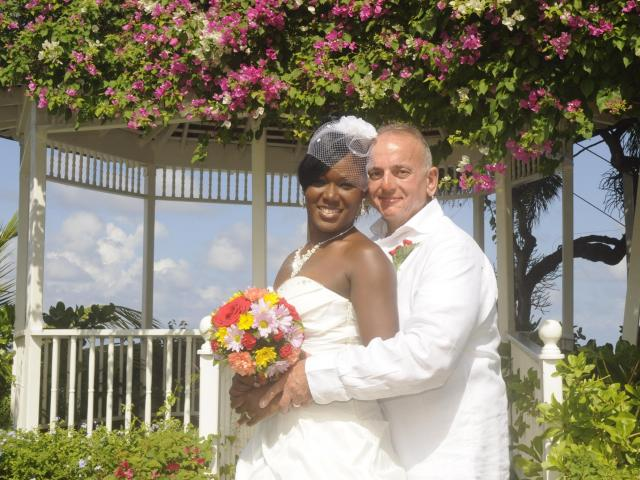 Interracial Marriage David & Marshallee - New Orleans, United States