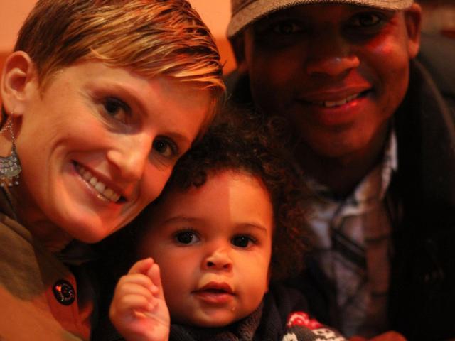 Interracial Marriage Monique & Larry - Virginia, United States