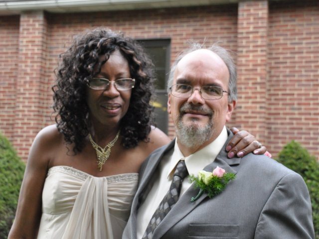 Interracial Marriage Hazel & Jonathan - New York, United States