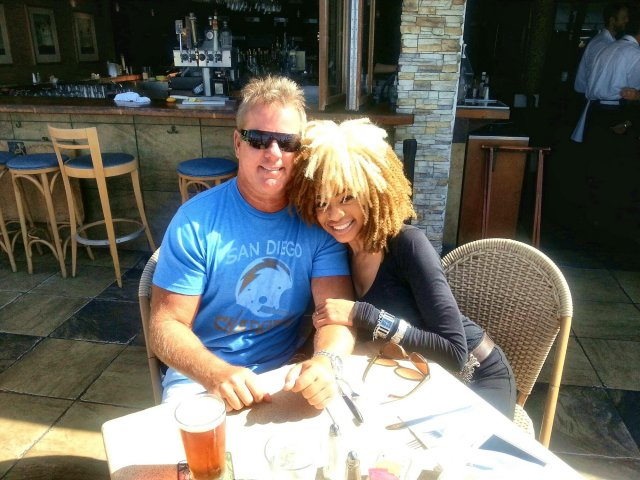 Interracial Couple Carolyn & Jim
