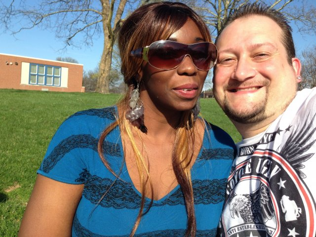 Interracial Couple Brenda & Robert - Connecticut, United States