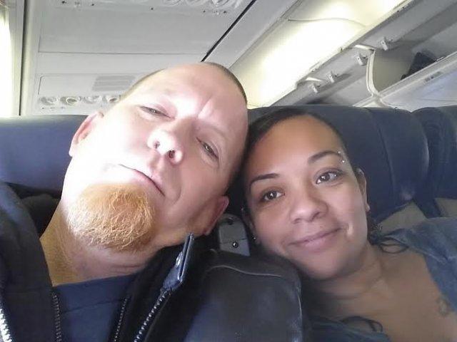 Interracial Couple Monique & Glen - Los Angeles, California, United States