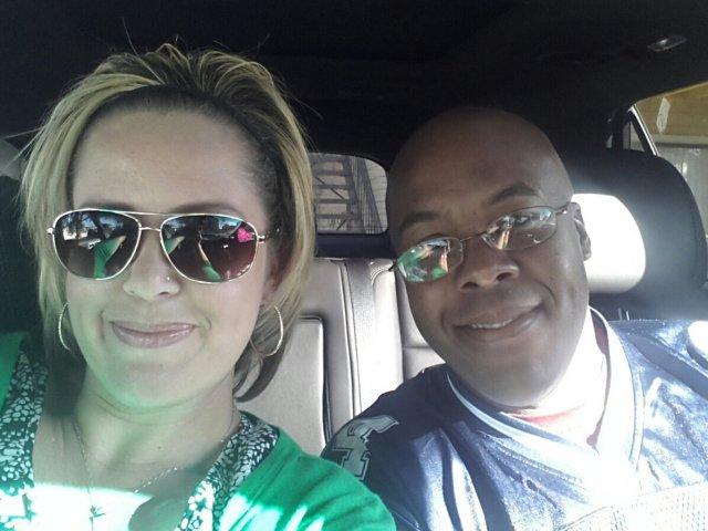 Interracial Couple Kelly & Qaiyim -  Texas, United States