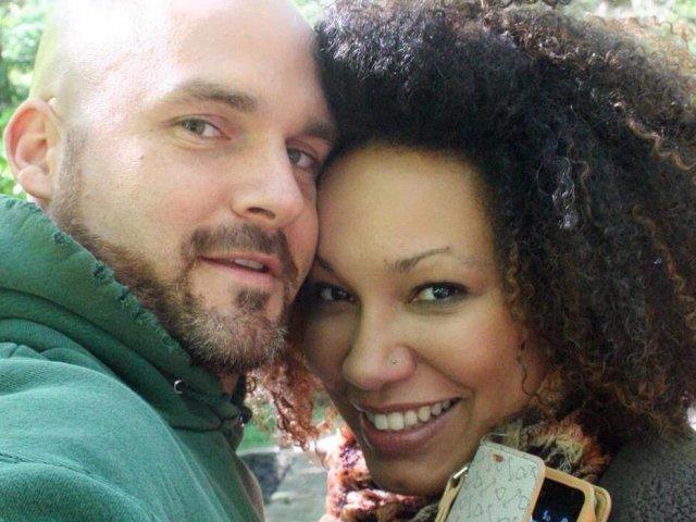 Interracial Couple Melanie & Tom - Orlando, Florida, United States