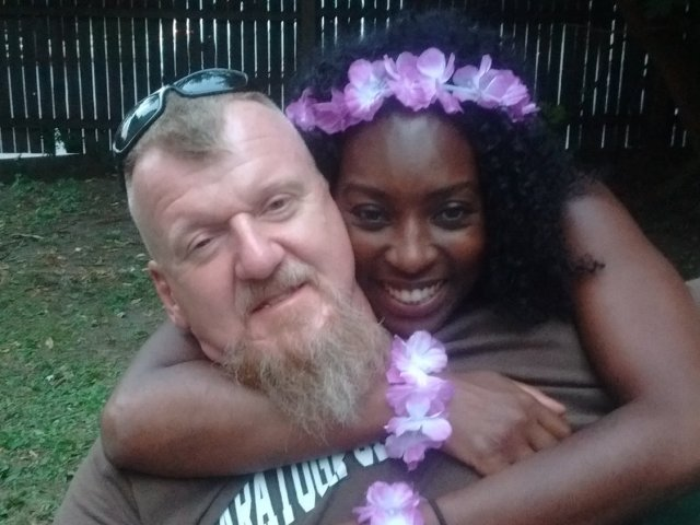 Interracial Couple Alison & Mike - Fort Lauderdale, Florida, United States