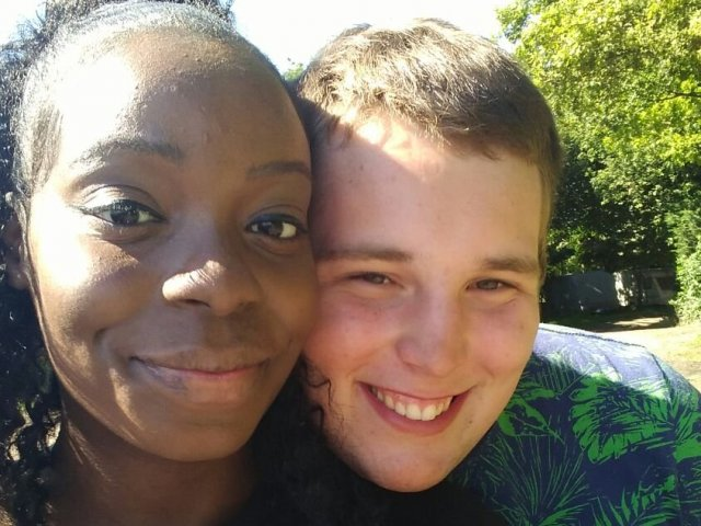 Interracial Couple Chertarnia & John - England, United Kingdom