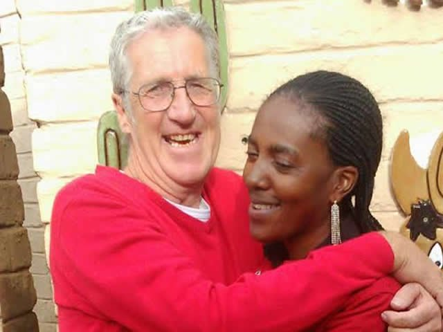 Interracial Couple Stella & Graham - Witbank, Mpumalanga, South Africa