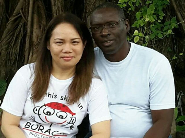 Interracial Marriage Catherine & Timothy - Saint Petersburg, Florida, United States