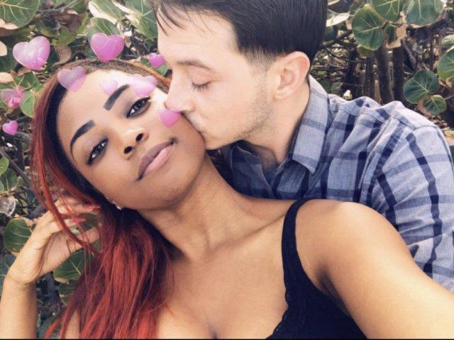 Interracial Couple Kassandra & Richard - Tampa, Florida, United States