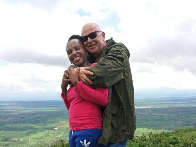 Interracial Couple Joyce & Jens - Nairobi, Nairobi Area, Kenya
