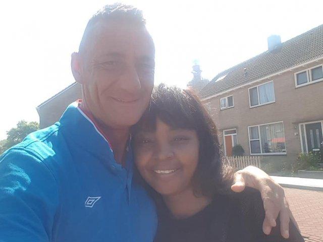 Interracial Couple Jane & Wim