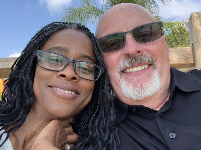 Interracial Couple Cloretta & Mark - Brandywine, Maryland, United States