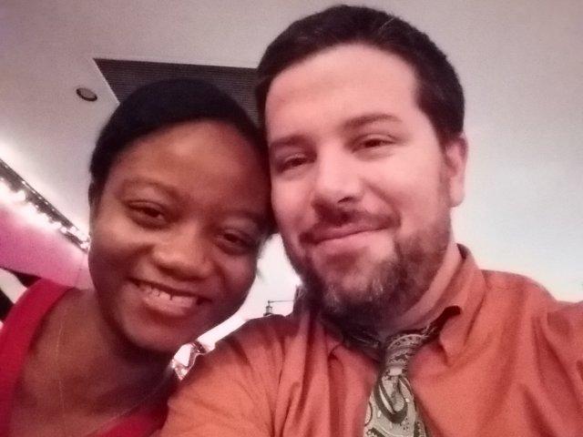 Interracial Couple Verlaine & Chris