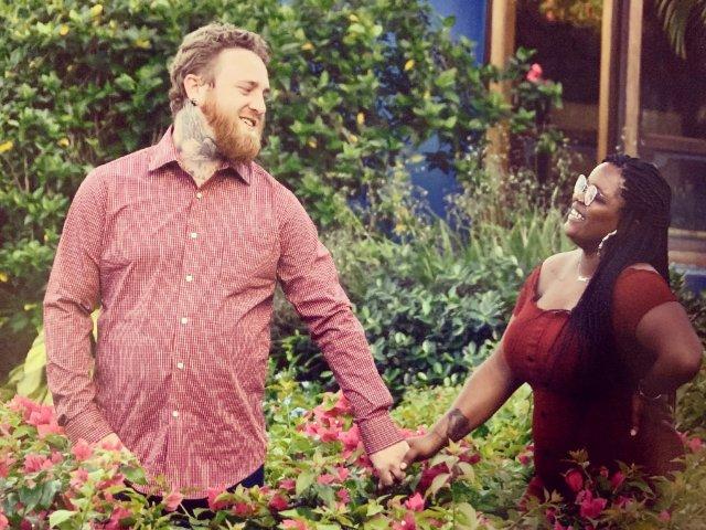 Interracial Marriage Kiante & Zachary - Jackson, Mississippi, United States