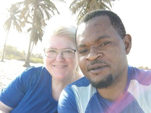 Interracial Marriage Anke & Sunny - Banjul, The Gambia