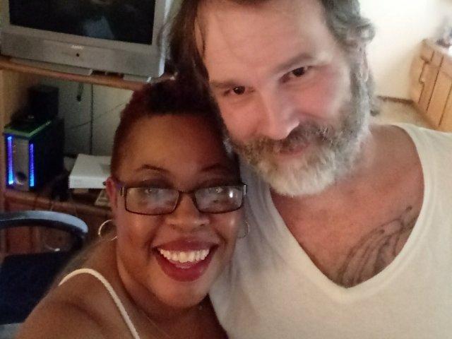 Interracial Couple Stacey & Talmadge - Kansas City, Missouri, United States