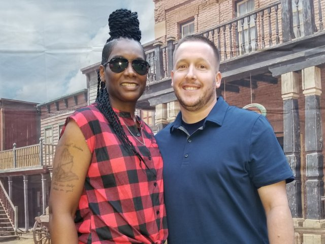 Interracial Couple Quiesha & Bryan - Caseyville, Illinois, United States