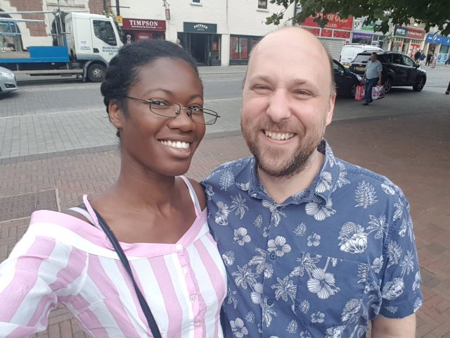 Interracial Couple Ola & Dan - Brentwood, England, United Kingdom