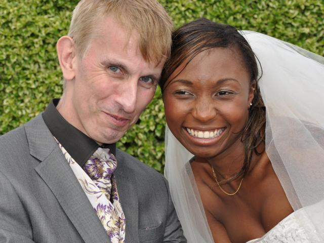 Interracial Marriage Petronilla & Andrew