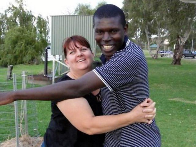 Interracial Marriage Virginia & Zephaniah - Australia - Kenya